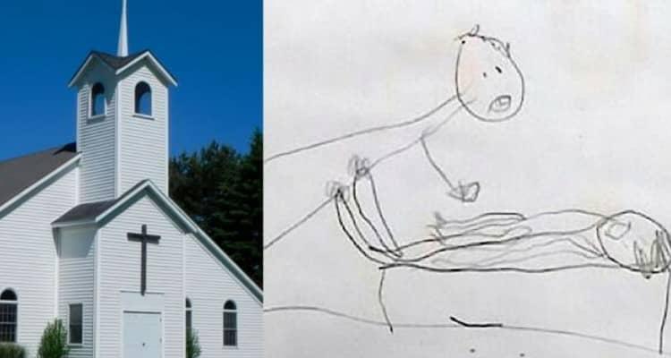 I disegni di una bambina di soli cinque anni, hanno fatto scoprire la verità