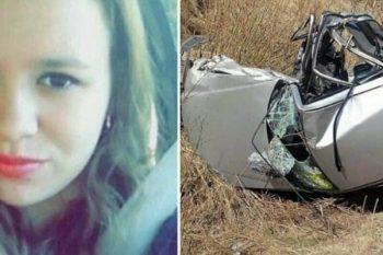 Angelina muore in un incidente automobilistico perché stava mandando un sms