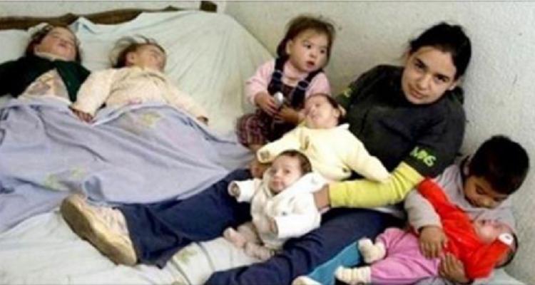 La storia della giovane Pamela e dei suoi sette figli