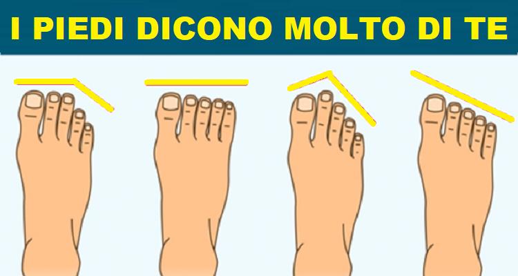 Cosa dicono i tuoi piedi di te?