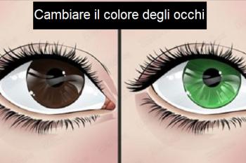 Metodi alternativi per cambiare colore agli occhi senza usare le lenti a contatto