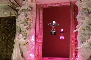 I droni sostituiscono le modelle da Dolce&Gabbana