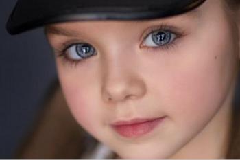 La bambina più bella del mondo.