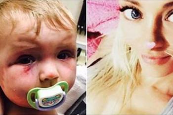 Colpisce la figlia di otto mesi con un cucchiaio di legno. Sentenza vergognosa.