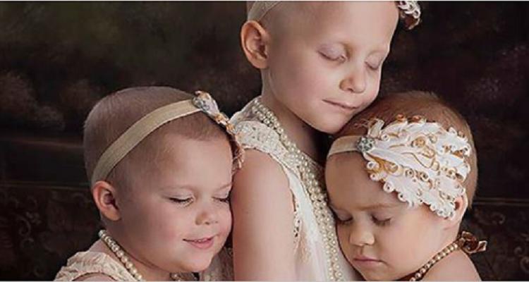 Le tre bimbe con il cancro