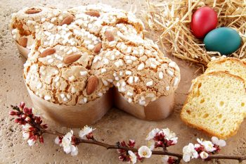 Non è Pasqua senza colomba e uova di cioccolato