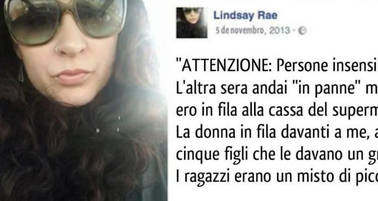 Fortunatamente esistono persone come Lindsay