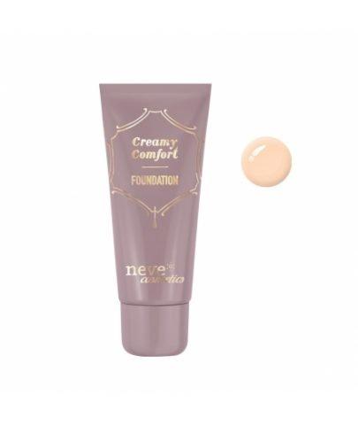 Neve Cosmetics Creamy Comfort Foundation - Fondotinta cremoso