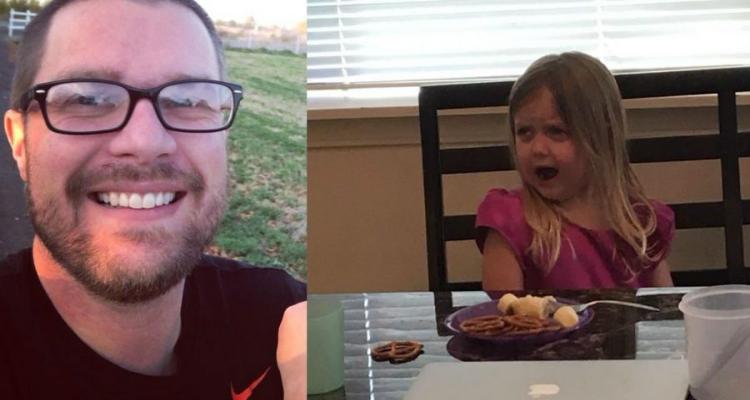 Padre dimostra come trasformare un bambino in una persona