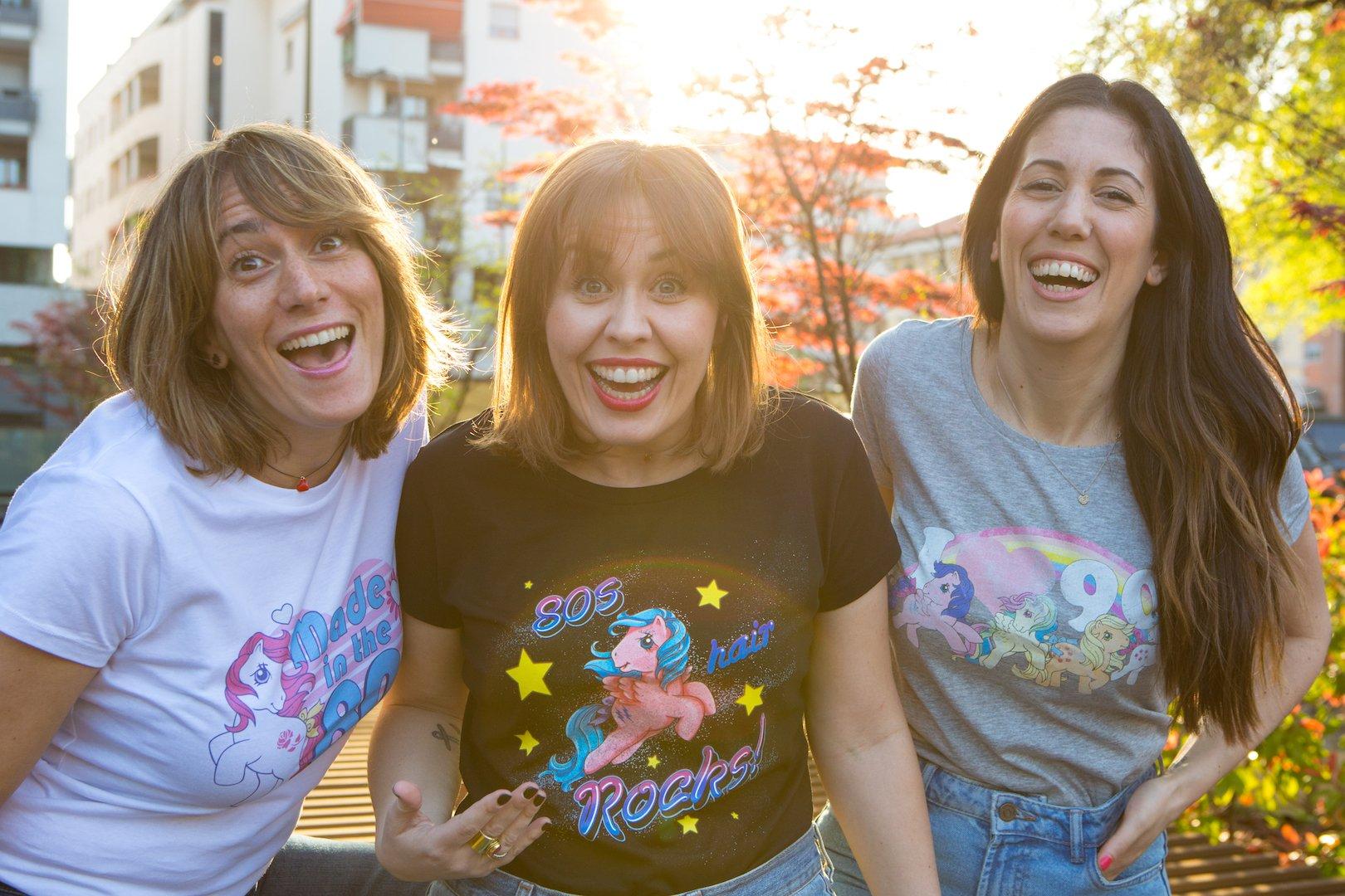 Back to 90's: le t-shirt de I Trentenni ed Hasbro con i nostri giochi e cartoni animati!