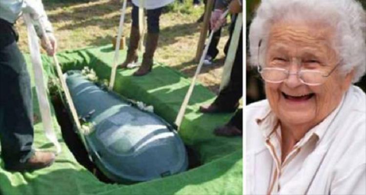Chiede alla moglie di seppellirlo con i soldi: ecco cosa ha fatto invece