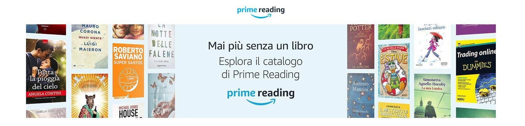 Amazon lancia Prime Reading, ebook gratis per i clienti Prime