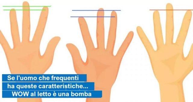 Chi ha le mani piccole, ha un pene ridotto?