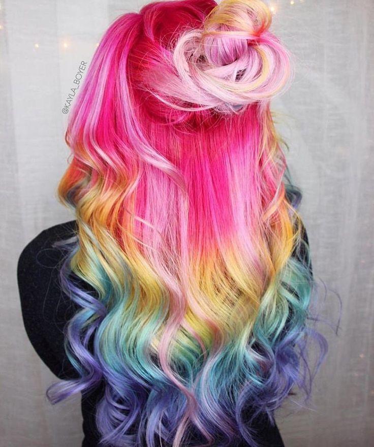 I capelli piu colorati del mondo