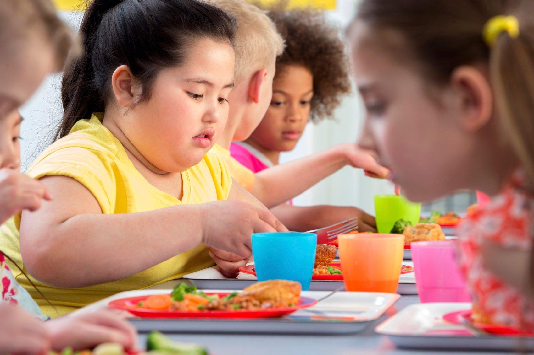 Figli obesi? La colpa è delle mamme che non li vedono grassi