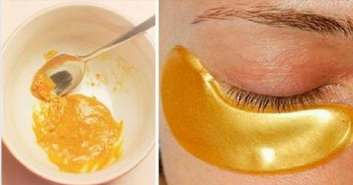 La maschera d'oro che aiuta a eliminare macchie, rughe e acne