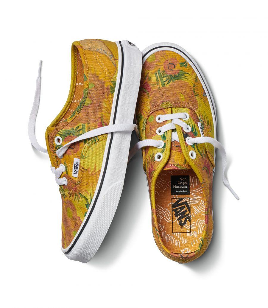 52d3c0309b3514 Le sneakers Vans dedicate all'arte di Vincent Van Gogh | Bigodino