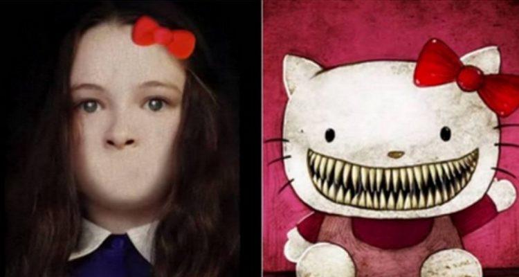 La vera storia di hello kitty e della sua bocca. da brividi bigodino