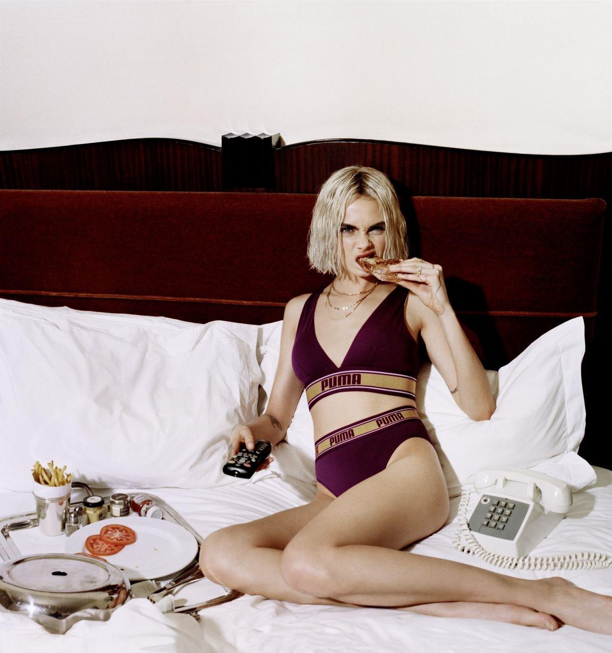 Puma Underwear, la collezione in collaborazione con Cara Delevingne