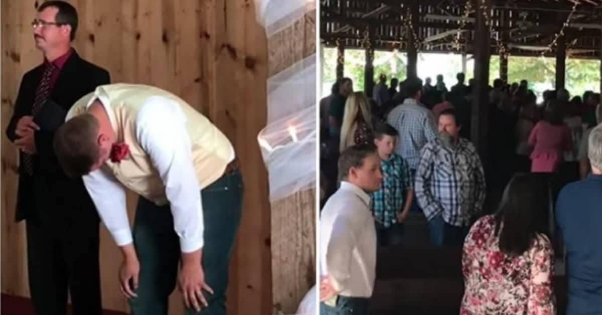 La sorpresa della sposa per il suo futuro marito