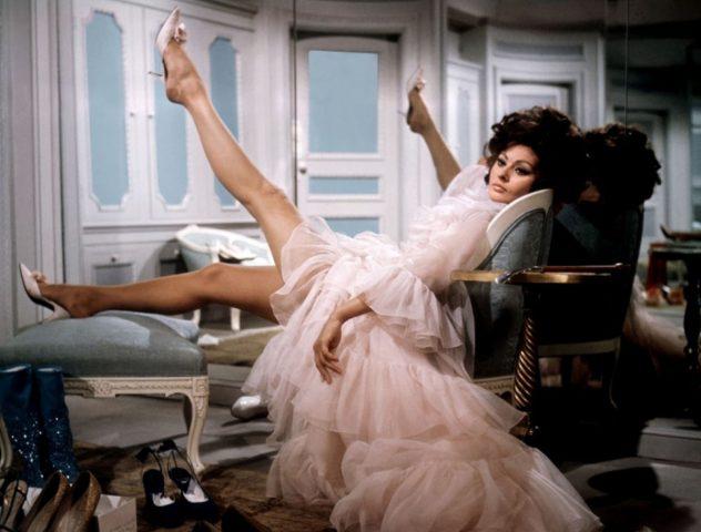 Sophia Loren in Arabesque (1966)