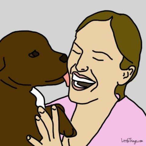 amore del cane