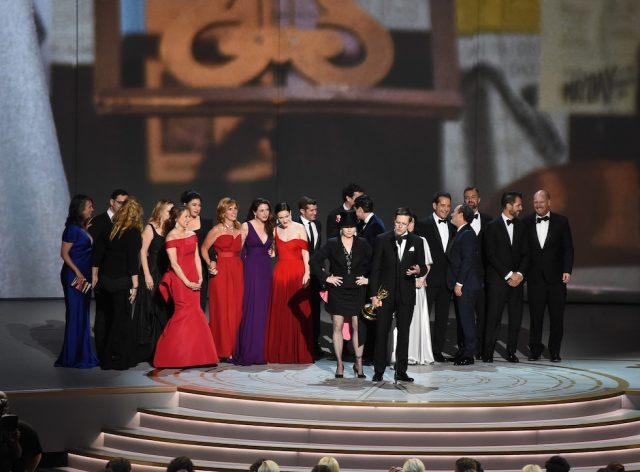 Il cast di La fantastica signora Maisel.  (Kevin Winter/Getty Images)