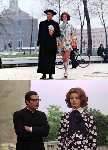 Sophia Loren in La moglie del prete (1970)