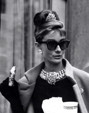 Audrey Hepburn in Colazione da Tiffany (1961)