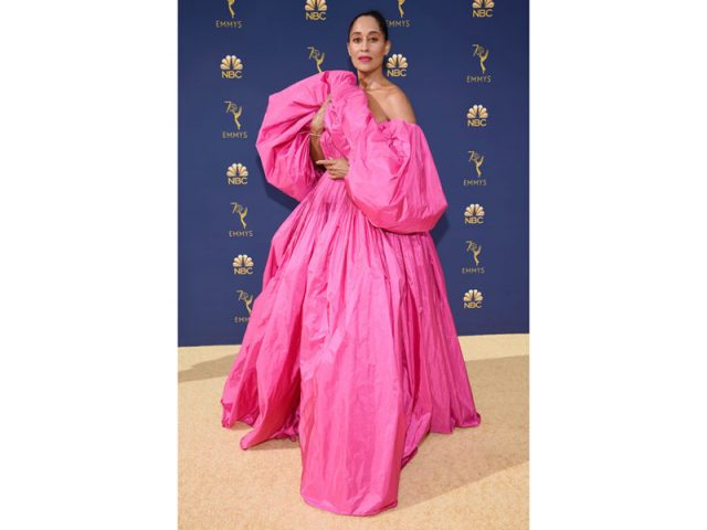 Tracee Ellis Ross in Valentino Haute Couture - @Getty Images
