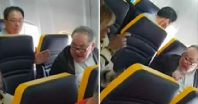 uomo-fa-il-bullo-con-un'anziana-signora-in-aereo