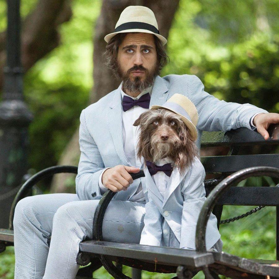 abbigliamento per cani coordinato