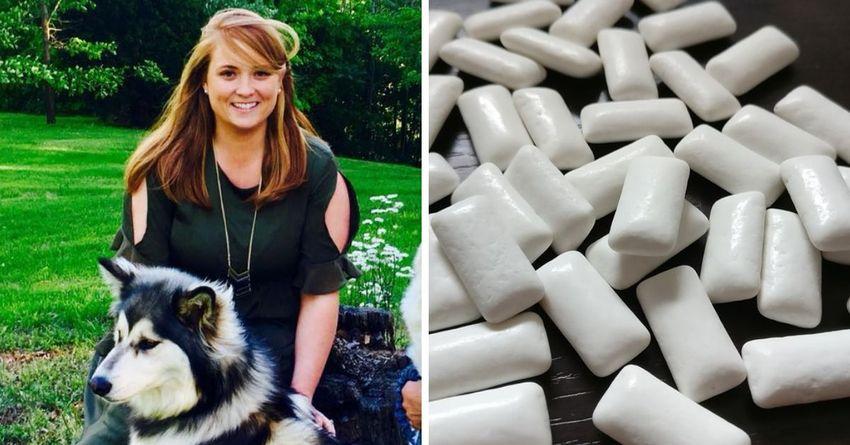 Cosa succede se un cane mangia un chewing gum
