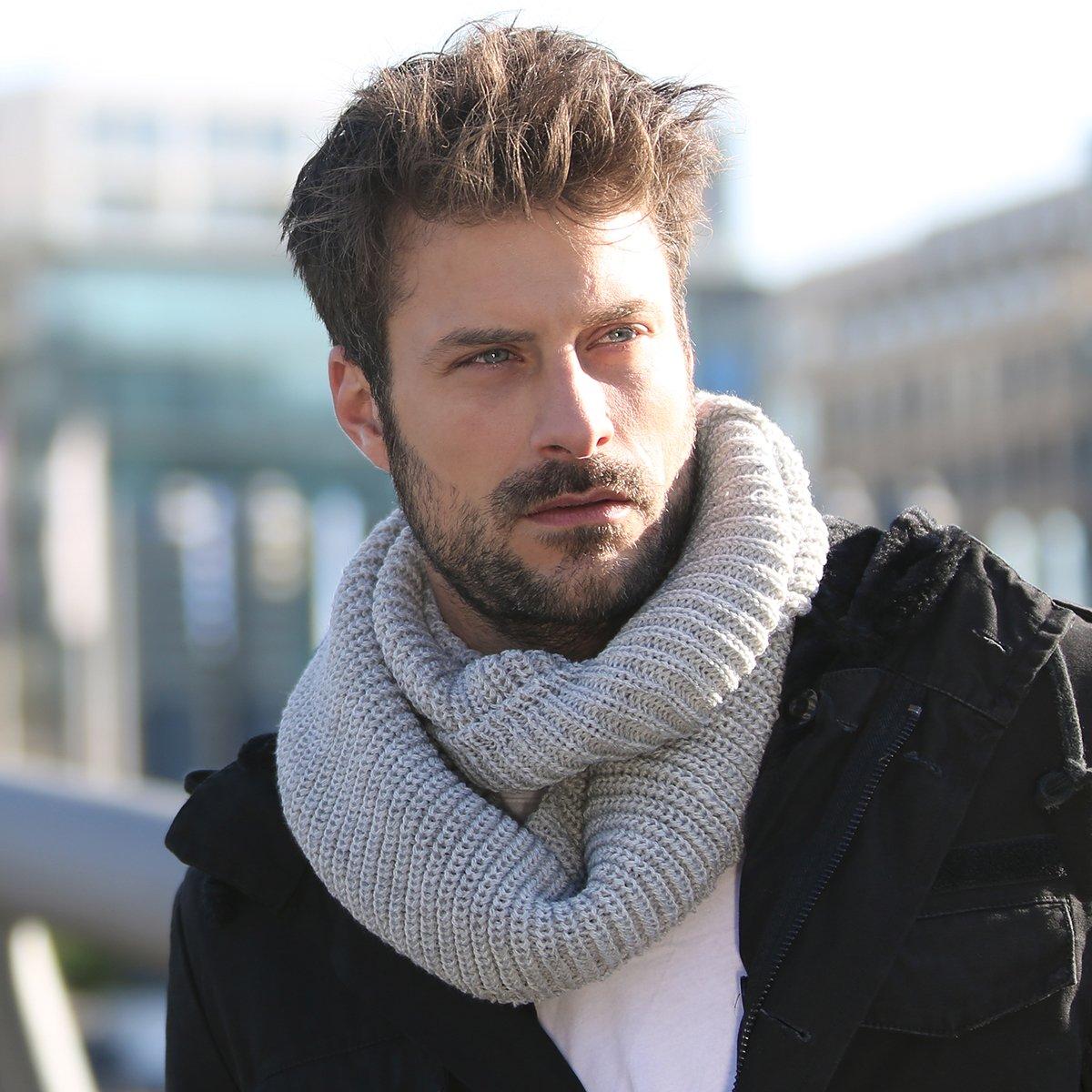 Come abbinare una sciarpa uomo