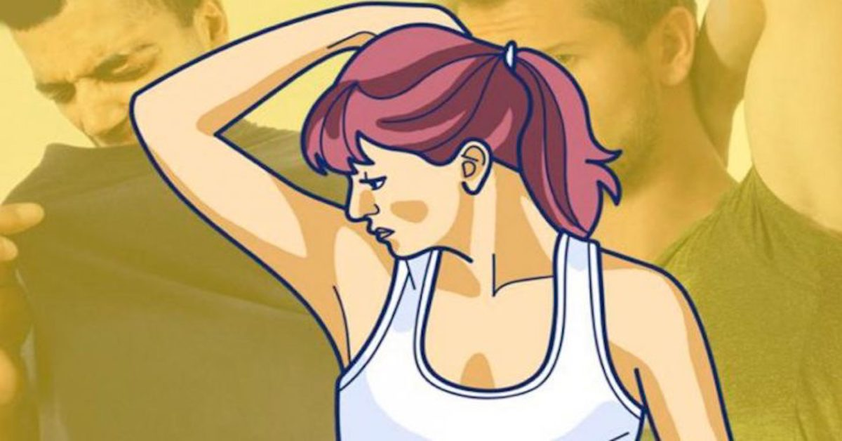Come eliminare il cattivo odore dalle ascelle