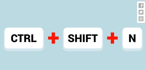 ctrl-shift-n