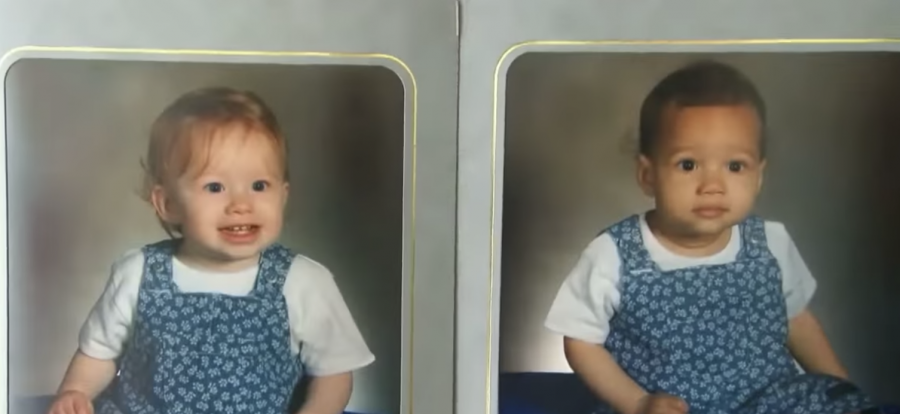 Lucy e Maria Aylmer da bambine