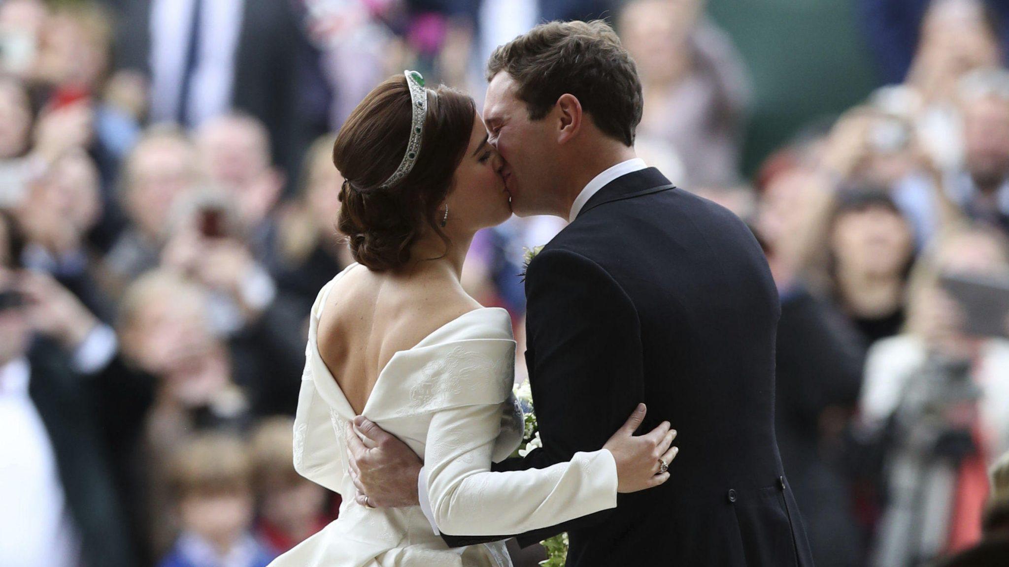 Matrimonio Eugenia di York: abito da sposa senza velo, perché?