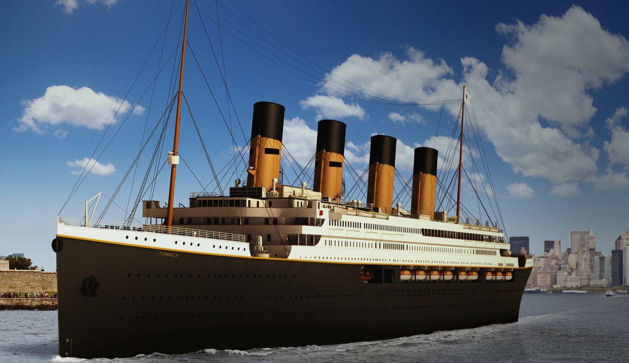 nuovo titanic