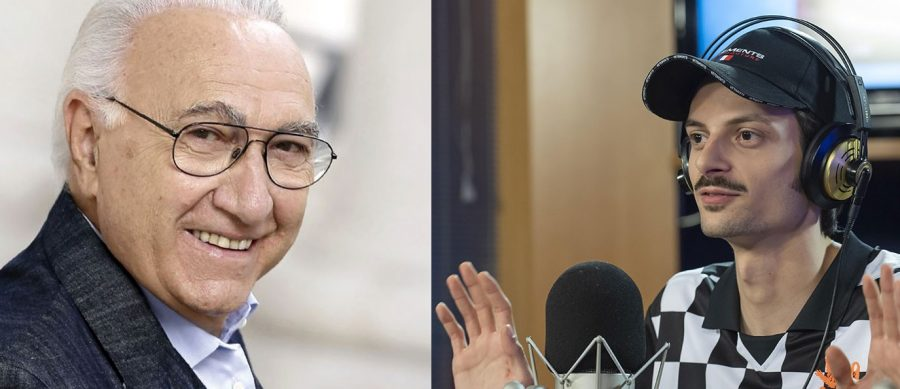 Fabio Rovazzi e Pippo Baudo
