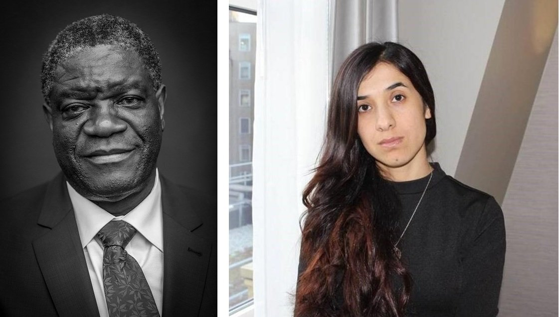 Nobel per la pace 2018 vincitori