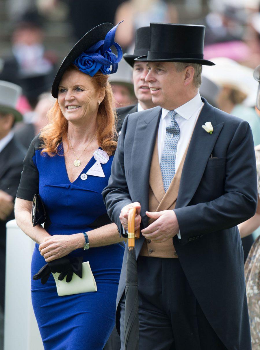 Sarah Ferguson e il principe Andrea