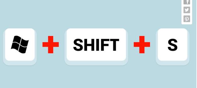 shift-s