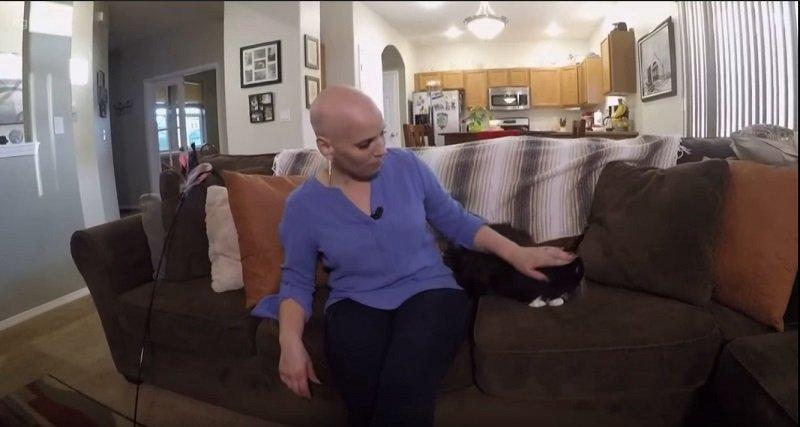 Può un gatto 'annusare' un cancro al seno? Secondo questa donna sì