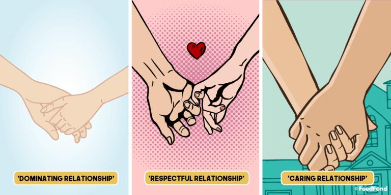 Dal mondo in cui una coppia si stringe le mani si possono capire molte cose