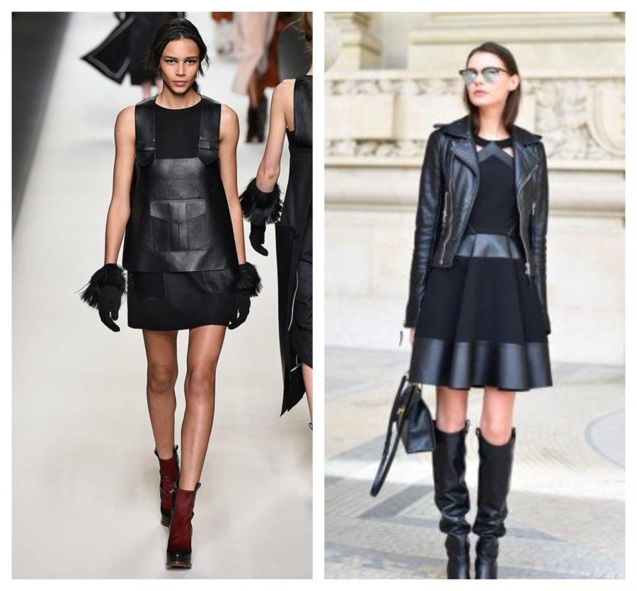 vestito-di-pelle-nero-come-abbinarlo
