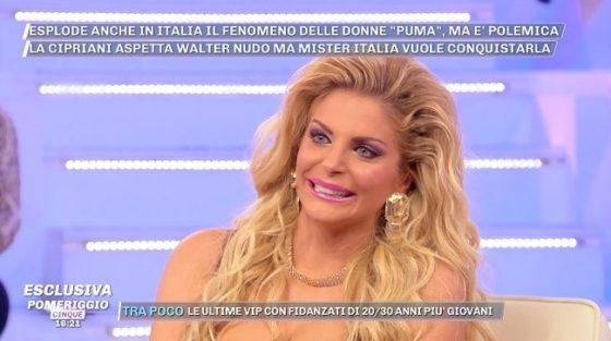 """Francesca Cipriani dalla D'Urso: """"Non faccio l'amore da 16 mesi"""""""
