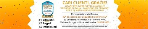 10 euro di sconto su Amazon