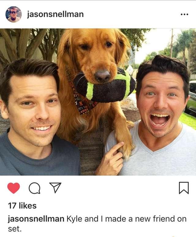 selfie con il cane