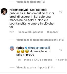 """Roberto Cavalli contro Chiara Ferragni: """"Non c'è amore in quello che fai"""""""